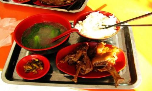 Zdjecie CHINY / Szanghaj / Szanghaj / przykładowe danie