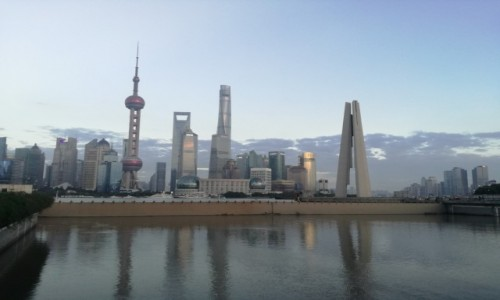 CHINY / - / Pekin / Szybki pociąg Pekin Szanghaj