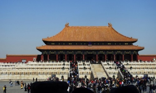 CHINY / Pekin / Pekin / Zakazane Miasto