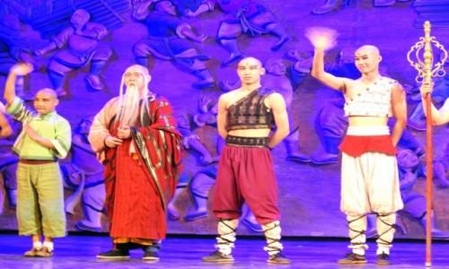 CHINY / Pekin / Teatr Czerwony / Legenda Kung fu 2