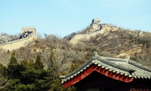 CHINY / Pekin / Badaling / Wielki Mur