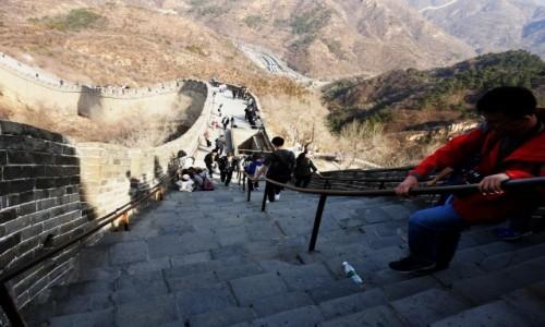CHINY / Pekin / Badaling / Wielki Mur 2