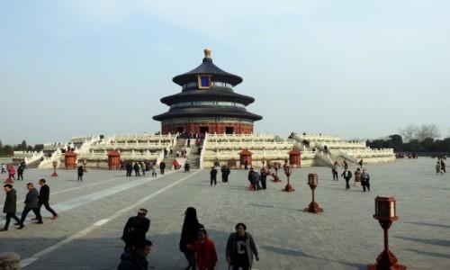 CHINY / Pekin / Pekin / Świątynia Nieba