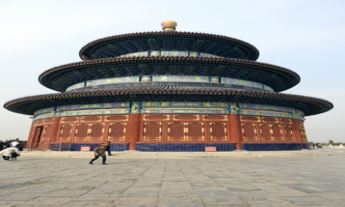 CHINY / Pekin / Pekin / Świątynia Nieba 2