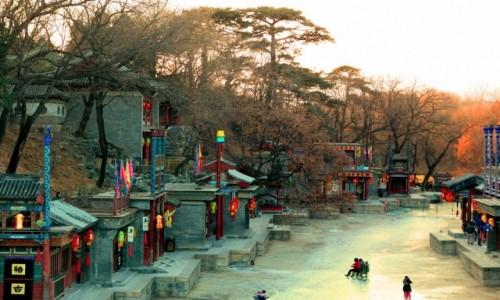 Zdjecie CHINY / Pekin / Pałac Letni / Ulica Suzhou