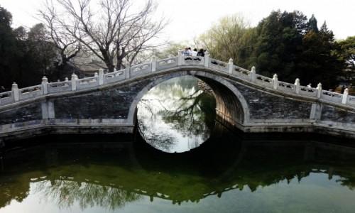 Zdjęcie CHINY / Pekin / Pałac Letni / Mostek