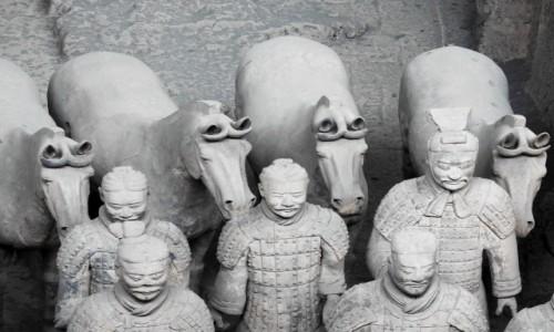 Zdjęcie CHINY / Xi'an / Muzeum Armii Terakotowej / Terakotowa Armia