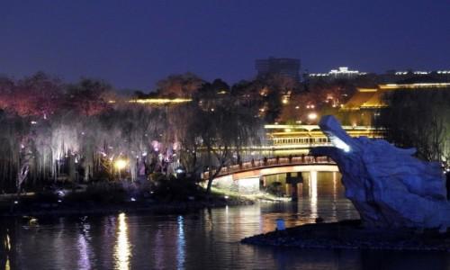 Zdjęcie CHINY / Shaanxi / Xi'an / Nocne miasto 4