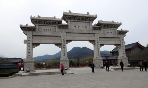 CHINY / Luoyang / Dengfeng / Shaolin