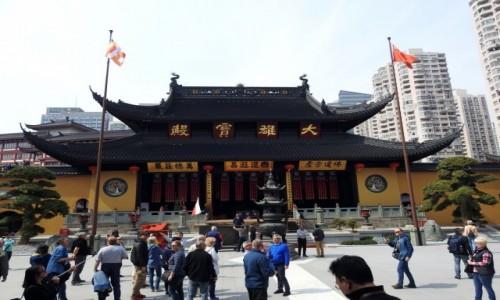 Zdjecie CHINY / Szanghaj / Szanghaj / Świątynia Nefrytowego Buddy