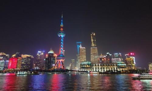 Zdjecie CHINY / Szanghaj / Huang Pu / Pudong