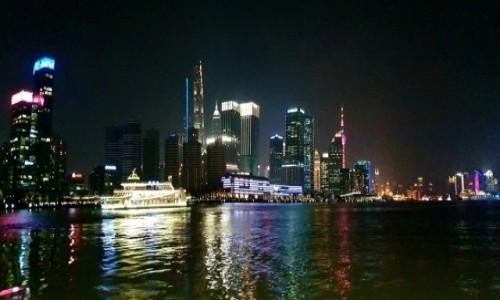 Zdjecie CHINY / Szanghaj / Huang Pu / Pudong 2