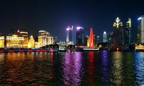 Zdjecie CHINY / Szanghaj / Huang Pu / Pudong 3