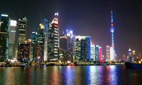 Zdjecie CHINY / Szanghaj / Huang Pu / Pudong 5