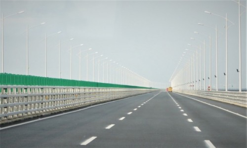 Zdjecie CHINY / prowincja Guangdong, Delta Rzeki Perłowej / Hong Kong – Zhuhai – Macau Bridge / na najdłuższym moście świata...