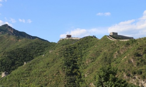 Zdjecie CHINY / - / Pekin / Wielki Mur Chiński
