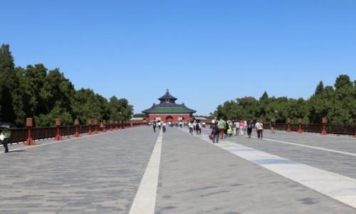 CHINY / Pekin / Pekin / W drodze do Świątyni Niebios