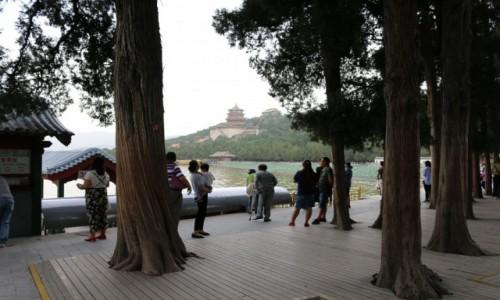 Zdjecie CHINY / Pekin / Kunming / Jezioro Kunming Pałac Letni