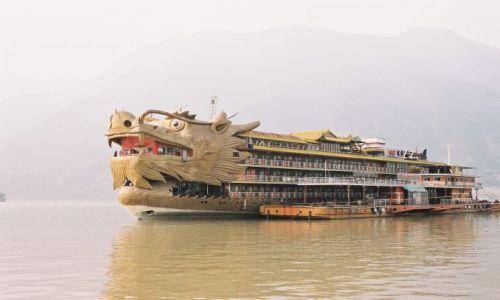 Zdjecie CHINY / brak / Jangcy River / Parostatkiem w piekny rejs...