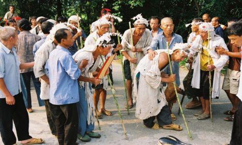 Zdjecie CHINY / brak / Yangshuo / Pogrzeb