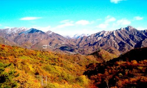 CHINY / brak / Niedaleko Pekinu / Wielki Mur