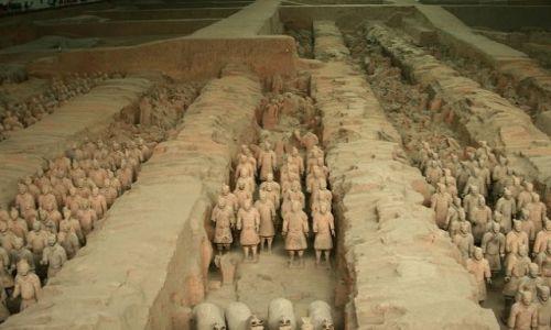CHINY / brak / Okolice Xian / Terakotowa armia