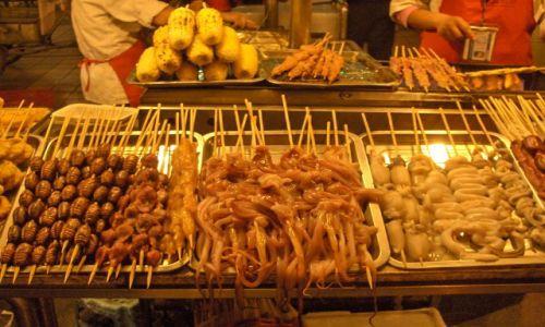 Zdjecie CHINY / Pekin / Pekin / Smakowite różności