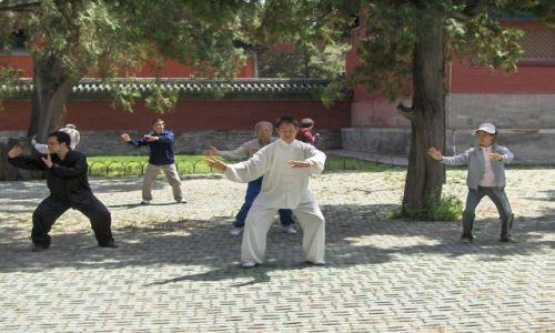Zdjecie CHINY / Pekin / Pekin / Ćwiczenia