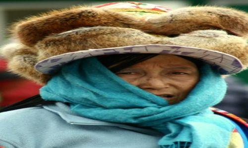 Zdjecie CHINY / brak / Jiuzhaigou / kobieta Tybetu