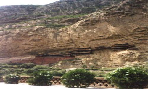 CHINY / Shanxi / Heng Shan / Wiszące klasztory