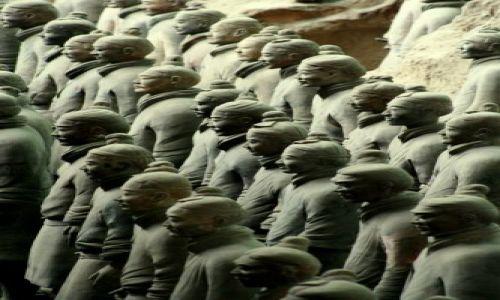 Zdjecie CHINY / brak / Xian / Armia Terakotowa