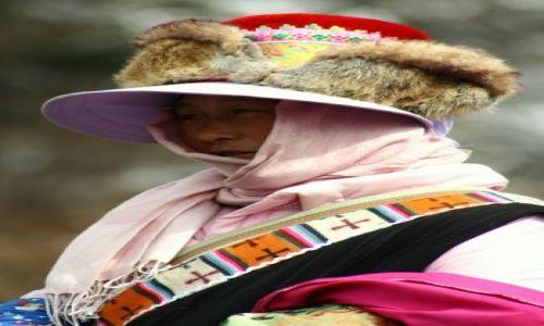 Zdjecie CHINY / brak / syczuan / kobieta tybetu