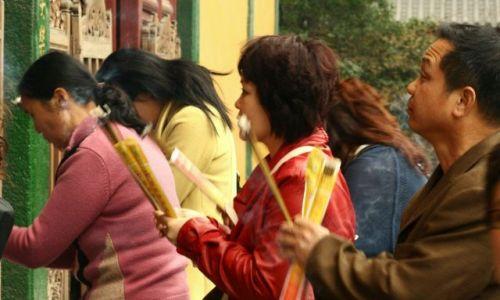 Zdjecie CHINY / brak / hangzhou / podczas modlitwy