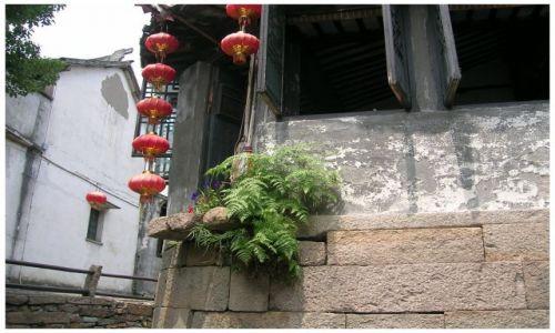 Zdjęcie CHINY / Chiny Wschodnie / Luzhi / Ogródek przyścienny