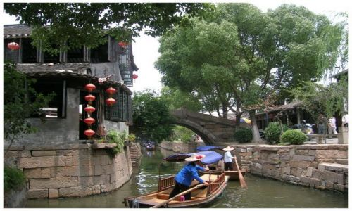 Zdjęcie CHINY / Chiny Wschodnie / Luzhi / Na zakręcie