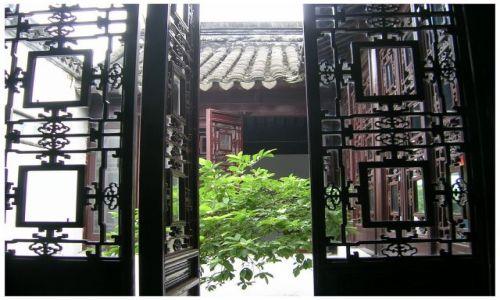 Zdjęcie CHINY / Chiny Wschodnie / Suzhou / Wejście do ogrodu