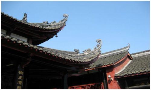 Zdjęcie CHINY / Prow.Sichuan / Chengdu / Podkręcone...