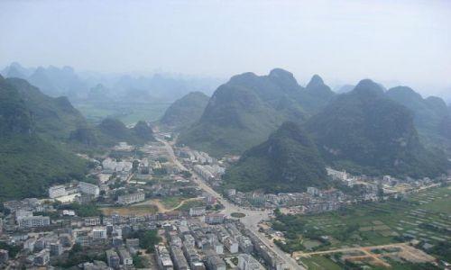 Zdjecie CHINY / brak / Yangshuo / Yangshuo ze wzg