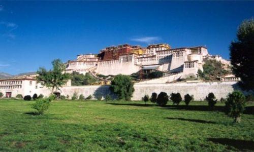 Zdjecie CHINY / Tybet / Lhasa / Palac Potala