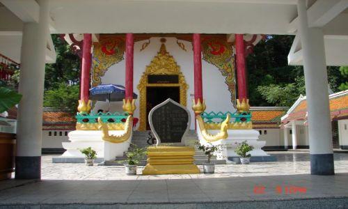 Zdjęcie CHINY / GUANZOU / Nanning / Tajski klasztor w calej okazalosci