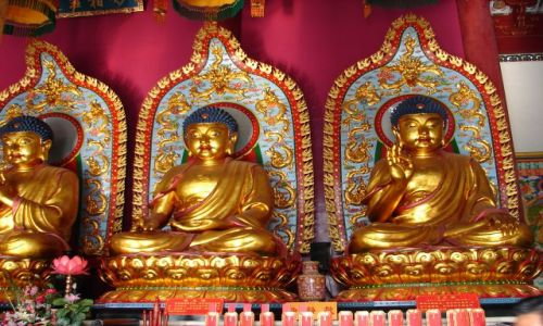Zdjecie CHINY / GUANZOU / Nanning / Bogowie