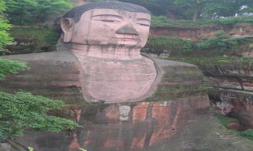 Zdjecie CHINY / Sychuan / Leshan / Budda