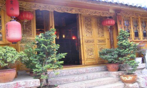 CHINY / południe Chin / Lijiang / Lijiang starówka