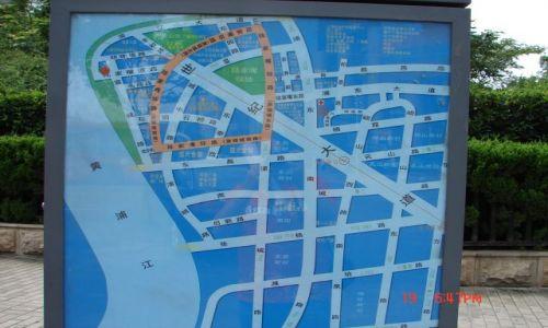 Zdjecie CHINY / Szanghaj  / Szanghaj / Plan miasta