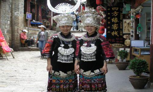 CHINY / okolice Shanghaju / Zhouzhuang / dziewczyny