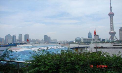 Zdjecie CHINY / Szanghaj  / Pudong / Panorama