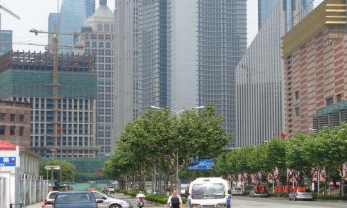 Zdjecie CHINY / Szanghaj  / Pudong / Pudong - w srodku