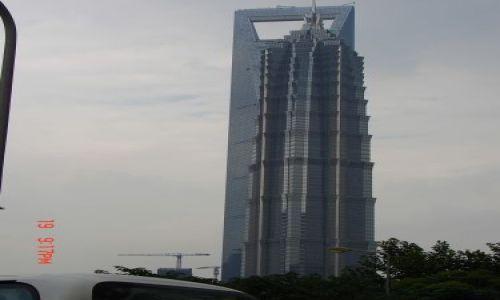 Zdjecie CHINY / Szanghaj  / Pudong / Budynek