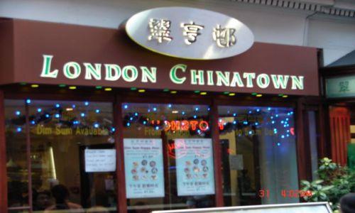 Zdjecie CHINY / Szanghaj  / Londyn / .    .    .      .