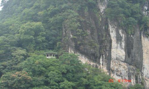 Zdjecie CHINY / Guangzo / Guilin / Straznica w gorach